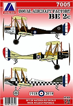 7005 ROYAL AIRCRAFT FACTORY BE. 2C – BACK IN STOCK