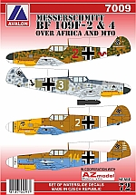 7009 MESSERSCHMITT BF 109F-2/4 OVER AFRICA & MTO – BACK IN STOCK