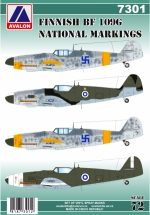 7301 BF 109G FINNISH NATIONAL MARKINGS SPRAY MASK
