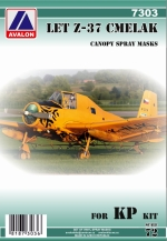 7303 LET Z-37 CMELAK CANOPY SPRAY MASK