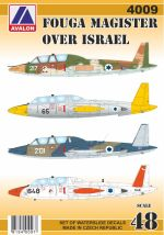 4009 FOUGA MAGISTER OVER ISRAEL – BACK IN STOCK